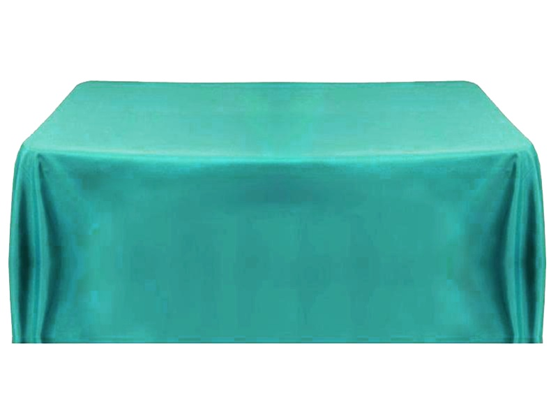Turquoise Tablecloth 60 X 102